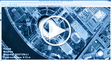 Satelllite imagery processing capabilities in IMAGE MEDIA CENTER